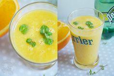 Koktajl z pomarańczy, banana i gruszki | Konkurs Perrier | Kuchnia Bazylii