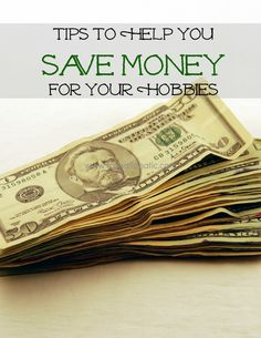 Saving For Hobbies - It can be difficult to save money that you can use on activities that you enjoy. Here are some great tips to help you achieve your goals.