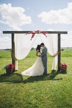 DIY Arches for Wedding