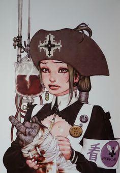 katsuya terada+ cover girls + TERRA! + concept art