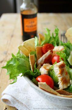 Cesar salad con carasau
