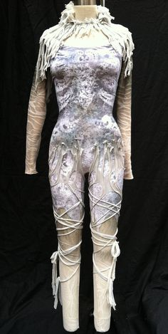 Aerial silks costume / custom dance costume / by HiWirecostumes