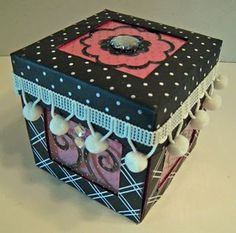 Passionately Artistic: Creatively Yours Spotlight Sunday Paper Punch, Explosion Box, Mini Albums, Decorative Boxes, Wraps, Gift Wrapping, Hair Affair, Crafty, Gift Boxes