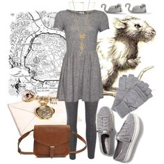 """""""Stanley Message Rat ~ Septimus Heap"""" by liesle on Polyvore"""