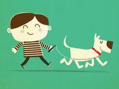 A Boy and His Dog © Chad Geran