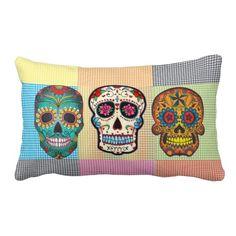 Los Muertos Travesseiro - pillows decorative