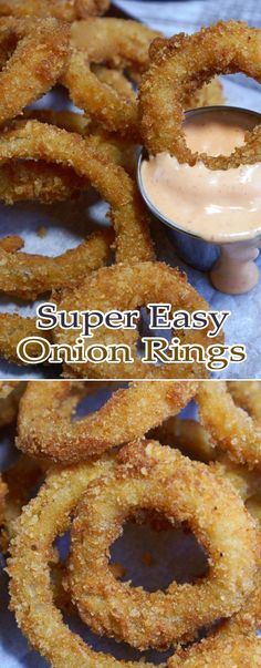 Super Easy Onion Rings