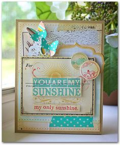 Emma's Paperie: Focus on Washi Tape by Hilary Kanwischer. Homemade Greeting Cards, Greeting Cards Handmade, Homemade Cards, Pretty Cards, Cute Cards, Mixed Media Cards, Project Life Cards, Butterfly Cards, Artist Trading Cards