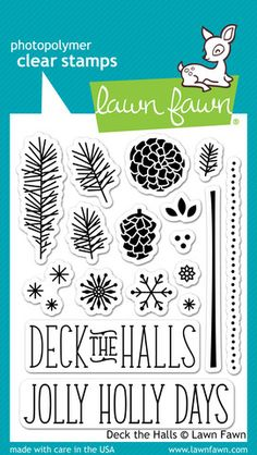Lawn Fawn Deck the Halls Stamps