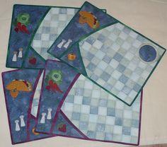Anjas design quilt - Design