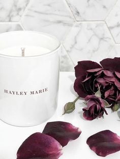 Hayley Marie Australia's Tranquil candle collection