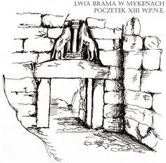 Grecja- Mykeny- Lwia Brama