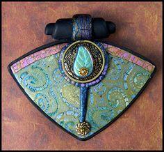 Polydogz\ Designs :: Polymer Jewelry :: swirl_pendant_reszd