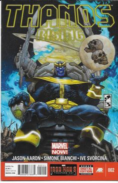 Thanos Rising # 2 Marvel Now ! First Print