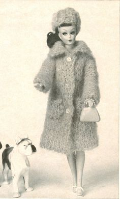 Vintage coat and hat