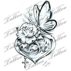 Here at Create My Tattoo, we specialize in giving you the very best tattoo ideas and designs for men and women. We host over unique designs made by our artists over the last 8 y Tattoos Skull, Rose Tattoos, Flower Tattoos, Body Art Tattoos, New Tattoos, Small Tattoos, Sleeve Tattoos, Tatoos, Rose And Butterfly Tattoo