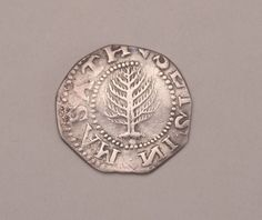 Pine Tree shilling, engraved by John Hull (1652 silver)