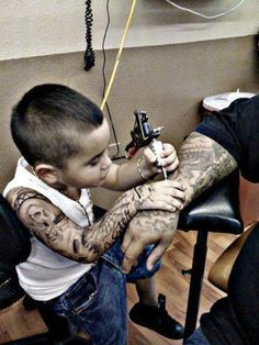 Tattoo...old and new school!!!