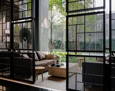 ONYX is the condominium by Sansiri. Shma design the landscape. Industrial Windows, Industrial Bedroom, Industrial House, White Industrial, Industrial Apartment, Industrial Shelving, Industrial Office, Industrial Style, Office Interior Design
