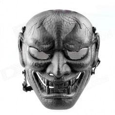 DC-11 Prajna Skull Mask - Black Price: $17.51