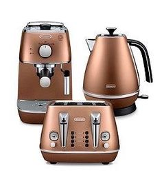 Delonghi Delonghi Distinta Copper Range    <>   @kimludcom