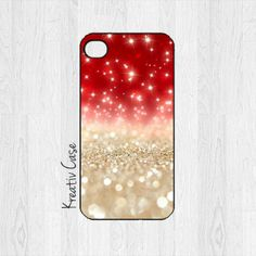 Glittery Christmas Phone Case - 27 Cute Christmas iPhone Cases