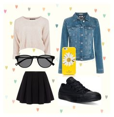 """""""☀️"""" by madelaine-p on Polyvore featuring Polo Ralph Lauren, Converse, Tommy Hilfiger, Kate Spade, women's clothing, women, female, woman, misses and juniors"""