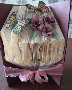 book folding with decoupage - Google-søgning
