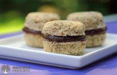 Sirovi veganski vanila keks sa kakao filom