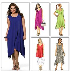 Butterick Pattern: B5655 Women's Top, Dress & Pants | Very Easy — jaycotts.co.uk - Sewing Supplies