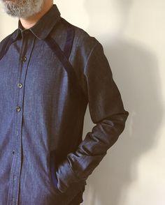 McMarden/Japanese Denim Field Shirt