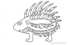 dibujos para dibujar elefante marino  Dibujos  Pinterest