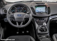 Ford Kuga 2017 poster, #poster, #mousepad