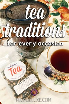 Create your own special occasion tea traditions to share with family and friends for years to come from these classic and contemporary ideas. #partyideas #teaparty