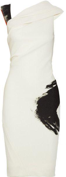 Donna Karan New York Artist Draped Stretchjersey Dress