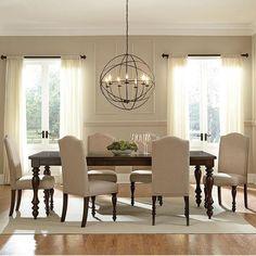 Standard McGregor 7-Piece Dining Set in Midnight Brown | Nebraska Furniture Mart $768.99.   SKU: 42355321.   http://www.nfm.com/DetailsPage.aspx?productid=42355321