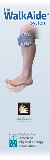 WalkAide System for foot drop