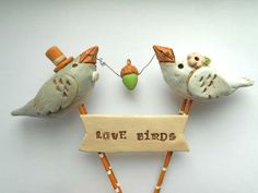 #Custom #Wediing  Cake Toppers by Indigotwin Weddings | Hatch.co