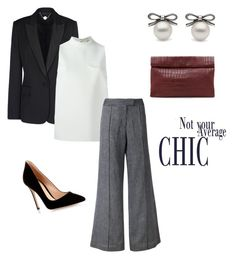 """""""Business and Sleek!!"""" by josehline on Polyvore featuring STELLA McCARTNEY, MSGM, STRATEAS.CARLUCCI, Gianvito Rossi and Marie Turnor"""
