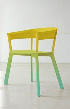 Ombre chair  Werner Aisslinger  Furnish  Pinterest  Ombre and ...