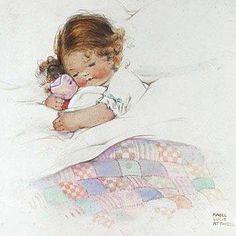 illustration de mabel lucie attwell 2 - Page 10 Vintage Children's Books, Vintage Artwork, Vintage Cards, Vintage Postcards, Vintage Illustrations, Retro Kids, Baby Illustration, Drawing For Kids, Vintage Pictures