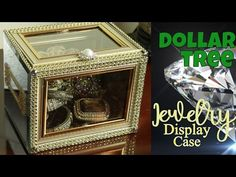 Diy dollar tree jewelry display case youtube dream room ez dollar tree jewelry display case do it yourself bling case from dollar solutioingenieria Images