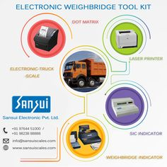 Sansui Electronics provide #weighbridgetoolkit in #india at best price and in time #Service. Visit at - www.sansuiscales.com  #SansuiElectronicsPrivateLimited , #Electronicsweighbridges , #truckscales Jewelry Scale, Truck Scales, Weighing Scale, Laser Printer, Tool Kit, Dots, India, Electronics, Stitches