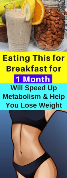 Eating This for Breakfast for 1 Month Will Speed Up Metabolism and Help You Lose Weight - seeking habit