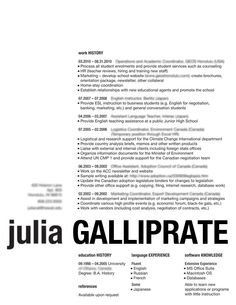 A really different resume with your name at the bottom. Check out www.brandkit.co for more unique resumes.