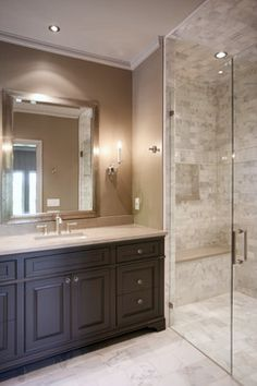 Ladisic House on Stovall - traditional - Bathroom - Atlanta - CR Home Design K&B (Construction Resources)
