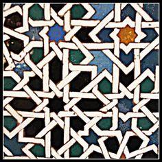 arte andalusí de La Alhambra