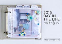 Little Lamm & Co. │ 2015 Day in the Life Mini Album