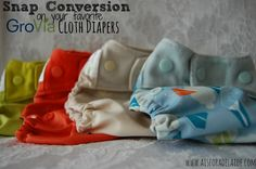 How to have your GroVia #clothdiapers snap converted thru GroVia!