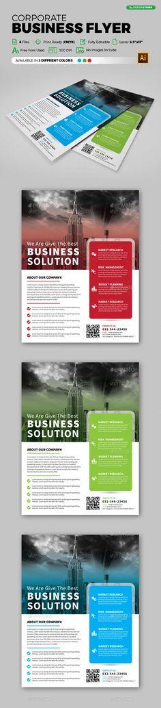 Corporate Business Flyer Template Psd Vector Eps Ai Illustrator